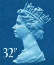32p Cheap GB Postage Stamp